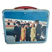 Airlines Metal Lunch Box Eastern Western Panam Air Canada National United Aa