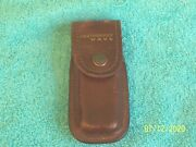 Vintage Leatherman Wave Brown Sheath Bosch Tools Labeled Very Good Condition