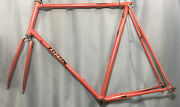 Nos 63cm Vintage 1986 Lotus Triomphe Built By Cinelli Columbus Italy Pearl Coral