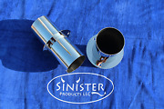 Sinister Products Llc 4 In Stainless Steel Marine Through Hull Boat Exhaust Tips