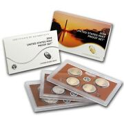 2014 United States Mint Proof Set Near Perfect Original Government Package Ogp