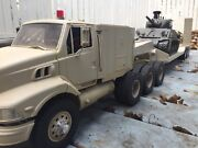 1/14 Aeromax Military 8x6 Tractor Truck With Rc Trailer