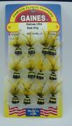 Gaines 1617rl-6 Bass King Bug-hook Size 6 Popper Card Of 12 21377