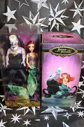 Disney Fairytale Collection Ariel And Ursula Little Mermaid Limited Edition Dolls