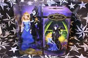 Disney Fairytale Collection Aurora And Maleficent Limited Edition Dolls