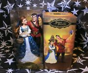 Disney Fairytale Collection Belle And Gaston Limited Edition Dolls