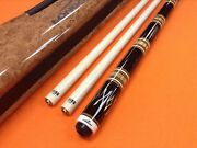 Longoni 5 Birilli Cue Stardust S5 Shafts And Case Extra Heavy Cue .