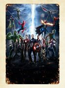 Avengers2 Infinity War Movie Metal Tin Sign Vintage Signs For Sale