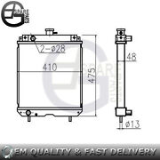 New Water Tank Radiator Core Assand039y T0430-1600-1 Size 37541048 For Kubota Gt23