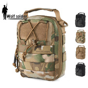 Military Airsoft Molle Medical Pouch Tactical First Aid Kit Emt Utility Pouch