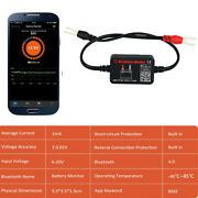 12v Automotive Battery Tester Monitor Diagnostic Tool For Android Ios Iphone