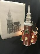 Old North Church 59323 Retired New England Village Paul Revere Steeple