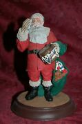 Danbury Mint Santa Claus Collection Norman Rockwell A Drum For Tommy Figurine