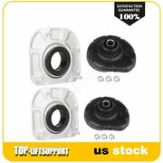 For Volvo S60 V70 4pcs Front Shock And Strut Mount Kit And Spring Seat Bushing