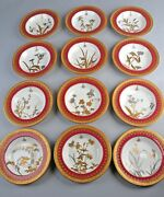Brownfield And Sons Antique 12 Rimmed Soup Bowls Asian Aesthetic Exquisite
