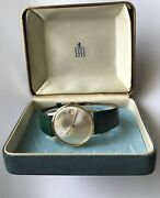 Vintage Eterna Matic 3000 Birks Automatic Slim Gold Plated 80 Microns With Box