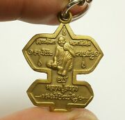 Lp Suang Miracle Kite Magic Monk Thai Buddha Amulet Rich Lucky Pendant Necklace