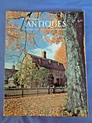 The Magazin Antiques Oct 1974 Mark Twain House Ct New Paltz New York Central Pk