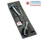 Dovo Razor And Facial Hair Grooming Set With Merkur 23c Safety Razor 575056