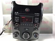 2010-2013 Kia Forte Radio Stereo Mp3 Cd Player 96150-1m272wk Ki242
