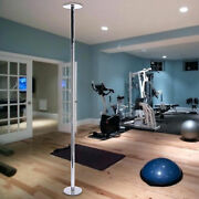 Home Dancing Pole Stripper Kit 45mm Load Capacity 440 Lb. For Fitness Exercise