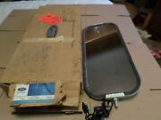 1968 1969 1972 Ford Truck Nos Outside Mirror Head With Marker Lamp C8tb-17723-l