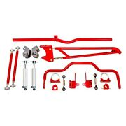 For Chevy Camaro 1982-2002 Bmr Suspension Drp004r Drag Race Package Level 2