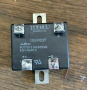 Potter And Brumfield Eot-4046-2 Solid State Relay 109p607