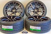 19 Inch Wheels Rims And Tires Fit Bmw M5 F90 Style M6 B7 5x1120.6 Machined Black
