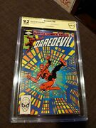 Daredevil 186 🔥 Signed By Frank Miller 🔥 Verified Cbcs Not Cgc 9.2 Rare