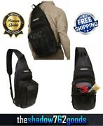 Sling Tackle Bag Utility Box Fishing Tool Gear Storage Padded Shoulder Strap New