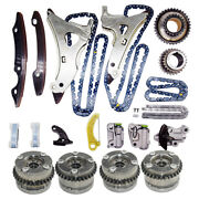 Camshaft Adjusters Timing Chain Kit For Mercedes W212 W166 E300 S400 3.0l 3.5l
