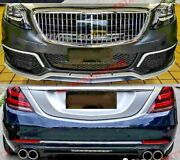 Body Kit For Mercedes Benz W222 S-class Maybach Facelift Model 2018+