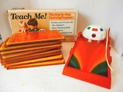 Vintage Teach Me Step By Step Electronic Learning System-8 Games-tested