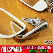 For Volkswagen Beetle Outside Right Left Mirror Type 1 Vw Bug Classic 1968-77