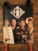 The Firm 1986 Rare Vintage Promo Poster Paul Rodgers Jimmy Page 20x31