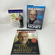 Lot Of 3 Dave Ramsey Financial Books Total Money Makeover