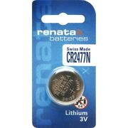 Us Nk220-10x Renata Cr2477n 3v Lithium Button Cell Battery 10 Pieces