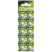 Us Bs113-5x Gp G10 / Lr54 / 189 / Ag10 Alkaline Button Cell Battery 5x Blisters