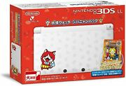 Nintendo 3ds Ll Yokai Watch Jibanyan Pack Console Carddas Limited Discontinued
