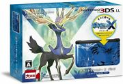 Nintendo 3ds Ll Pokemon X Pack Xerneas Yveltal Blue Game Console Discontinued