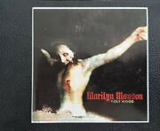 Marilyn Manson Sticker - Price Based On Last Year Mm Was Relevant
