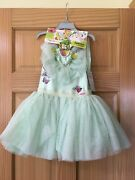 Nwt Disney Store Tinker Bell Leotard Tutu Girl And Doll Set Animators' Collection