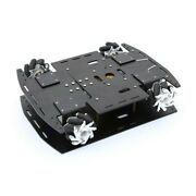 4wd 60mm Mecanum Wheel Robot Car Chassis Kit 10kg Load For Arduino Raspberry Pi