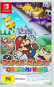 Paper Mario The Origami King Nintendo Switch Family Kids Rpg Adventure Game
