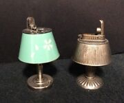 Pair Of Vintage Japanese Novelty Table Lighters