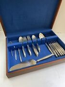 Sea Rose By Gorham Sterling Silver Flatware Service For 6 Set 36 Pcs In Total