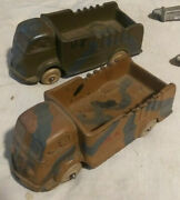 Vintage Aub-rubr Model Toy Truck Made In Usa Auburn Rubber Rare