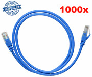 Lot Of 1000 Cat5e 5ft Ethernet 24awg Lan Network Rj-45 Patch Cable Cord Blue