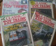 Classic Toy Train Magazine December 1996, January 1997, March 1997 And...